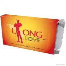Potenciaszabályozó kapszula Long Love 4 db, korai magömlésre