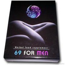 69 For Men potencianövelő kapszula 2 db férfiaknak