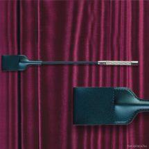 Fekete bőr pálca fenekeléshez 44 cm paskoló