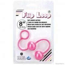 Szexgolyók anális és hüvelyi használatra Flip Loop