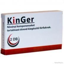 Kinger potencianövelő hatással, férfierő javító 2 db