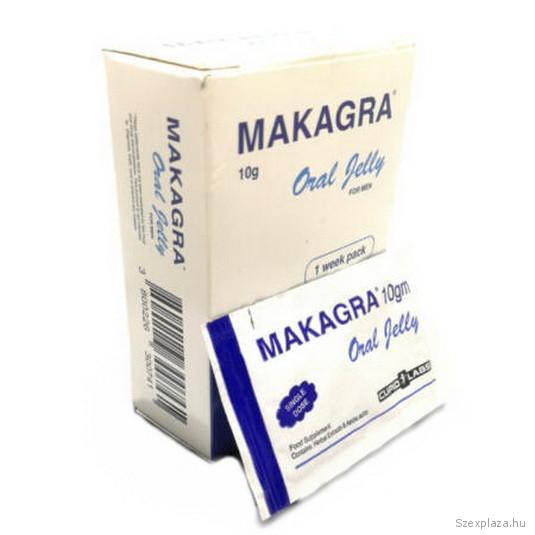 Makagra potencianövelő zselé, Oral Jelly 7 db