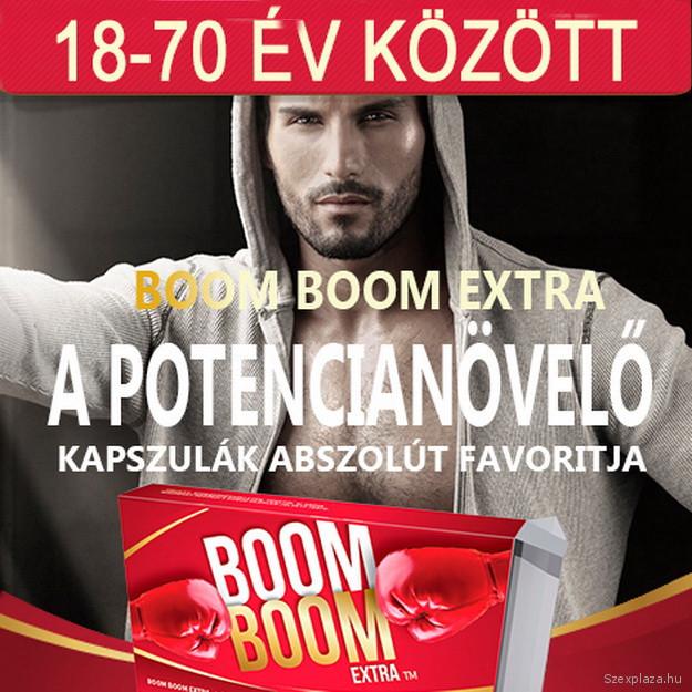 Boom Boom Extra potencianövelő az Intim Centerben kapható, rendelhető! Budapest, Károly krt. 14.